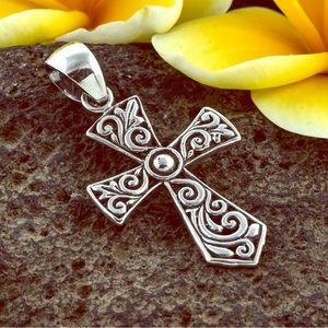 Jewelry - 2/$28 Sterling Silver Cross Pendant
